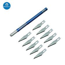 10pcs 1# Precision Knife Blades Engraving Craft Knife Phone Repair Cutting Tool