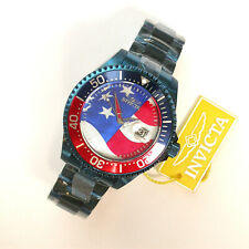 NEW $1295 GENTS INVICTA 47MM PRO GRAND DIVER USA FLAG LTD AUTOMATIC WATCH 27964