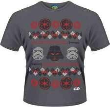 Star Wars - Vader Fair Isle T-Shirt Homme / Man - Taille / Size XL PLASTIC HEAD