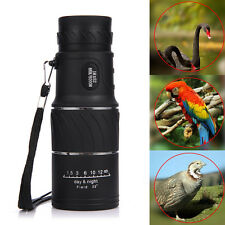 16x52 HD Optical Monocular Telescope Day&night Vision Hunting Camping Hiking