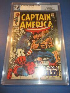 Captain America #106 Silver age PGX 7.5 VF- Beauty Wow JP