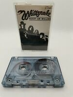 Whitesnake - Ready An Willing - Cassette Tape