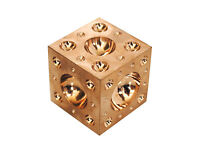 """Proops 1-1/4"""" 32mm Jewellers Solid Brass Doming Dapping Forming Block. M0033"""