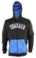Zipway NBA Men's Oklahoma City Thunder Signature Basics Full Zip Hoodie, Black