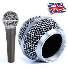 Replacement Mesh Microphone Head Ball Grill for Shure SM58, AKG, Sennheiser etc