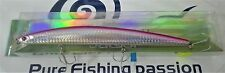 Jatsui LONG MINNOW SLIM 180mm 33g WB11AA  VMC TREBLE HOOK COL. A010 PINK SILVER