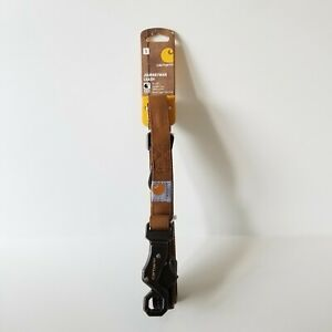 Carhart Journeyman Dog Leash 6' Metal Trigger Claw Clasp Reflective Repellent S