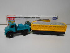 MERCEDES-BENZ UNIMOG DUAL MODE VEHICLE TOMICA TOMY #128 1/88