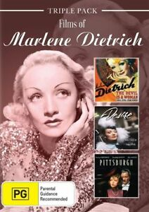 Marlene Dietrich - Films of New and Sealed 3 Disc Set