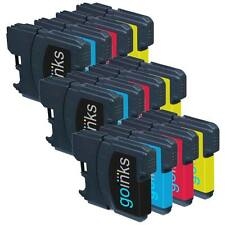 12 Ink Cartridges (Set) to replace Brother LC980 & LC1100 non-OEM / Compatible