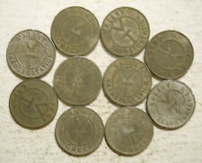 Lot of 10 Valley Transportation (Lemoyne, Pennsylvania) transit tokens - PA565D