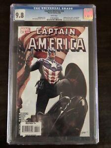 CAPTAIN AMERICA #34 CGC 9.8 STEVE EPTING COVER MARVEL COMICS