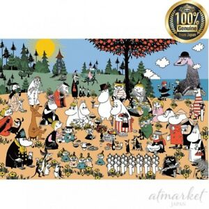 1000 Piece Jigsaw Puzzle A wonderful group of Moomin Valley (50 x 75 cm) 10-1306