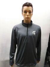 Michigan State Spartans 1/4 Zip Champion Pullover Jacket XL NCAA