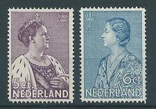 1934TG Nederland Crisiszegels NR.265-266 postfris, mooie serie!
