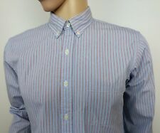 Brooks Brothers Camisa De Hombre Ajustado X Azul Tamaño M Mediano 16 - 42 nuevo PVP £ 160
