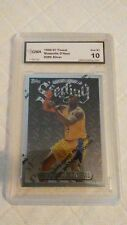 """Shaquille O'Neal 96-97 Topps Finest """" SILVER """" Gem Mint 10 Card ***"""