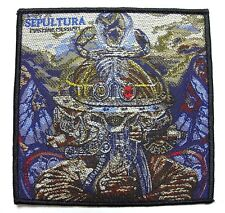 SEPULTURA ( machine messiah ) OFFICIAL  WOVEN  PATCH