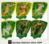 2009-10 Select Cricket Trading Cards Foil Die Cut Card Subset Full Set (64)