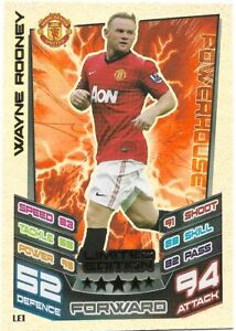MATCH ATTAX 2012/13 WAYNE ROONEY LIMITED EDITION LE1