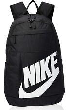 Nike Elemental 2.0 Backpack Black/White BA5876-082 NEW