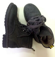 Genuine Bonpoint Lace-Up Leather Black BOOT EU 28 kids **FAST FREE SHIPPING**
