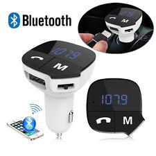 Car Kit MP3 Music Player Wireless Bluetooth FM Transmitter Radio With USB Port