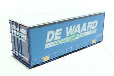 L40 Fleischmann N NS 1x LKW Wechselbrücke DE WAARD blau 845373 NEU OVP