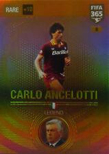 PANINI ADRENALYN XL FIFA 365 2017 RARE LEGEND Ancelotti 8