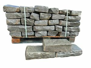 Mauersteine Trockenmauersteine Natursteine Sandsteine Antik Grau 100-1.000Kg