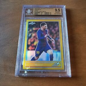2019 National Convention Leaf - Leo MESSI - Gold 1/1 - BGS 9.5 - NSCC one of one