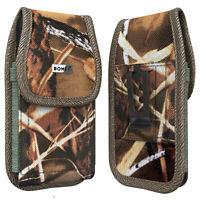 Bomea Heavy Duty Belt Case w/ Clip Nylon Camo For iPhone 6 6s 7 8 Phone Holster