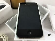Apple iPhone 4S 64GB Black AT&T Phone Bundle w Artist Gelaskin Box Belkin Case +