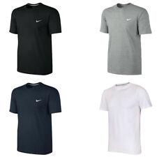 New Nike Mens Classic T-Shirt  Classic Crew Neck Shirt Swoosh 100% Cotton Tee
