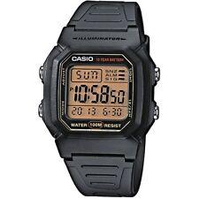 Casio reloj w-800hg-9a caballeros señora reloj digital reloj de pulsera negro watch nuevo & OVP