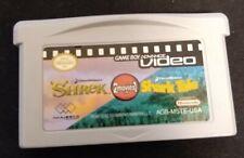 Game Boy Advance Video: Shrek / Shark Tale (Nintendo Game Boy Advance, 2006)