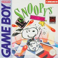 Nintendo GameBoy Spiel - Snoopy's Magic Show Modul