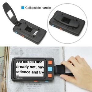 5in LCD Portable Video Digital Magnifier Electronic Reading Aid for Low Vision