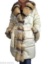 Knielange Damenjacken & -mäntel aus Wolle mit L
