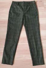 Pantalon en laine imprimé Prince de Galles tons gris/noir ,femme/fille T.36