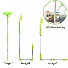 Cleaning Glass Cleaner Brush For Washing Window Squeegee Microfiber Extendable