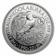 2015 1oz Australian Kookaburra Silver Coin | Goat Privy (In Capsule)