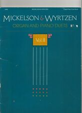 COLLECTION MICKLESON & WYRTZEN, ORGAN AND PIANO DUETS, 1987, VOL. 2