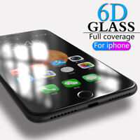 6D Fit Apple iPhone 6  100%Tempered Glass Film Screen Protector 6D 9H Guard UK