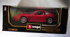 6735:Bburago Ferrari 550 Maranello,1996,1:18 rot,Diamonds Col.,Mod.3064, in OVP.