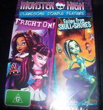 Monster High Friday Night Frights / Why Do Ghouls Fall In Love (Aus R 4) DVD NEW