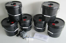 6 bucket 2 Gallon Deep Water Culture Hydroponic System
