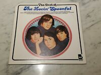 The Best Of The Lovin' Spoonful LP 1977 on Buddah in VG+  Cover VG+