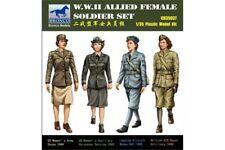 BRONCO CB35037 1/35 W.W.II Allied Female Soldier Set (4 figures)