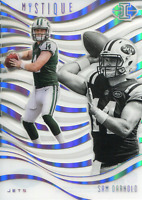 Sam Darnold 2018 Panini Illusions Mystique Rookie Card